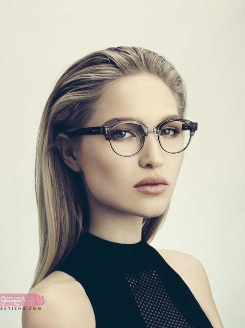 فریم عینک برای صورت های لاغر و باریک