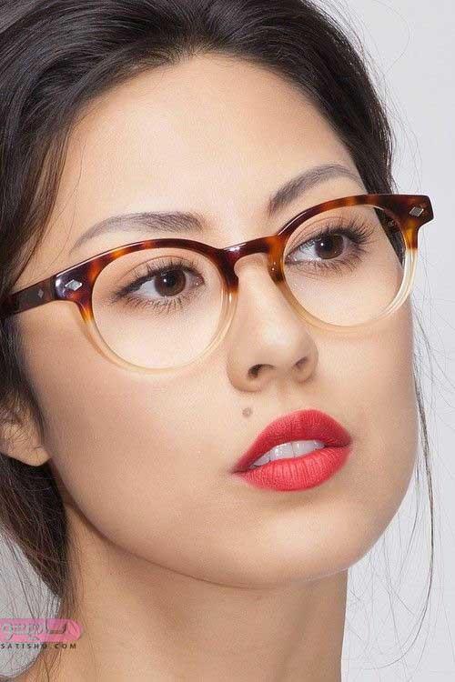 مدل عینک طبی برای بینی کوچک 98