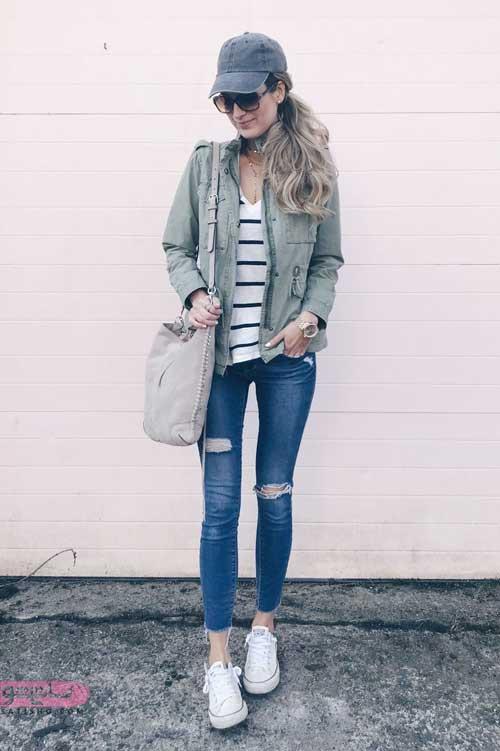 خرید کت جین بلند زنانه