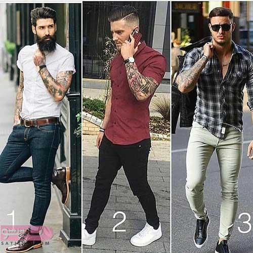 مدل ست پیراهن و شلوار کتان مردانه جدید