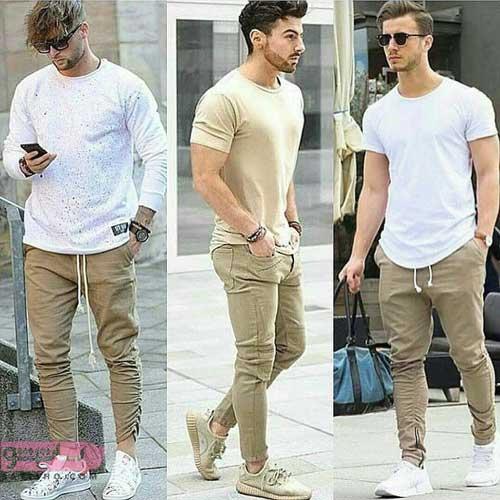 خرید ست لباس مردانه رنگ روشن