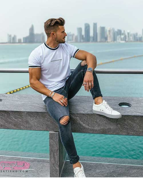 مدل پیراهن مردانه اسپرت جدید 98