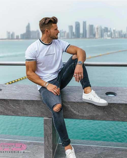 مدل پیراهن تیشرت مردانه اسپرت