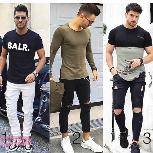 مدل ست پیراهن مردانه اسپرت 2019