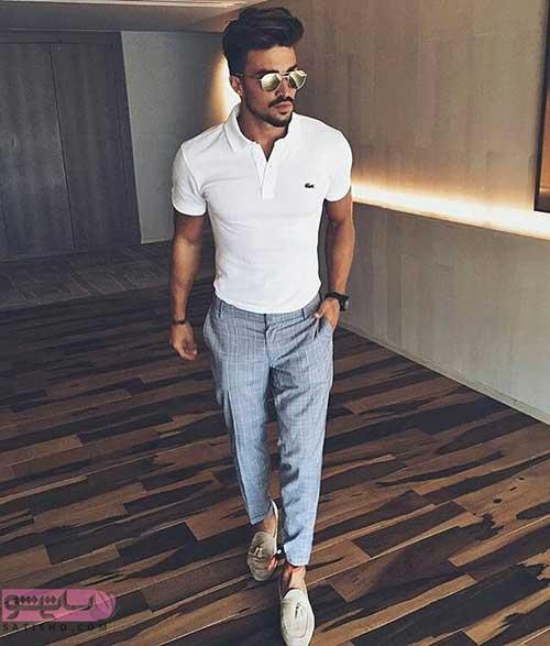 مدل های پیراهن ست مردانه با شلوار