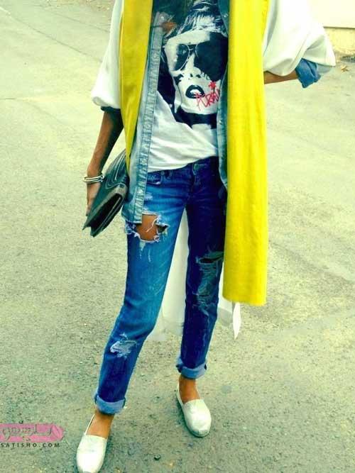مدل مانتو عید 98 در اینستاگرام ساتیشو
