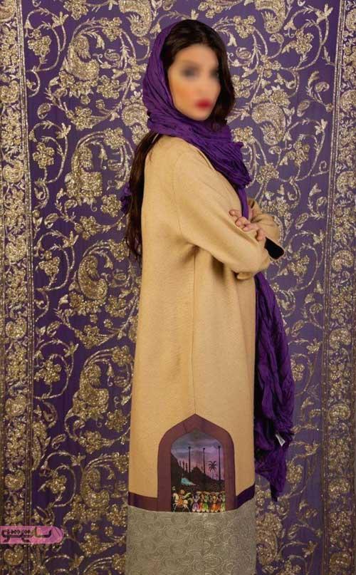 مدل مانتو جدید عید 98 دخترانه
