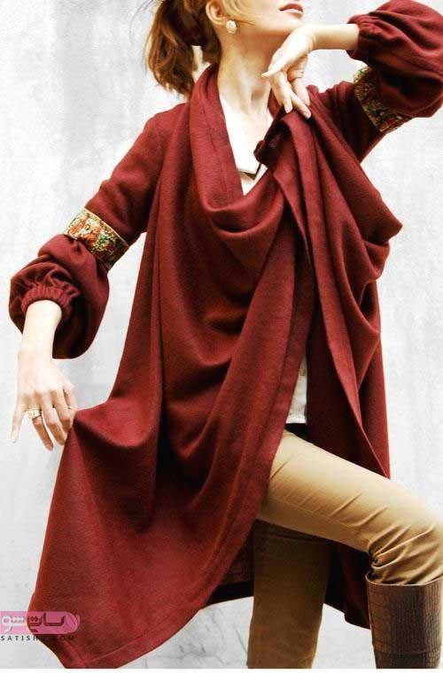 مدل مانتو بلند دخترانه جدید 98