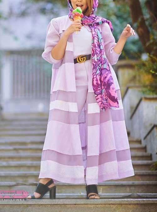 مدل مانتو جدید عید 98 برای دختران