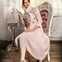 ۷۵ مدل مانتو مجلسی بلند جدید با رنگبندی شیک برای خانم های فشن