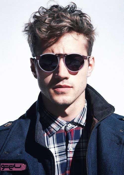 مدل مو برای موهای مجعد مردانه 98