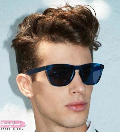 مدل مو پسرانه برای موهای خشک و فر