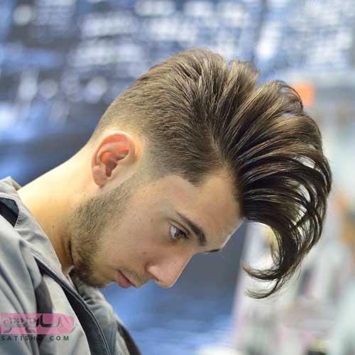 مدل موی نیمه بلند مردانه 2019