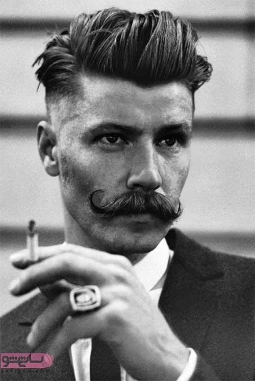 مدل مو مردانه خامه ای شیک