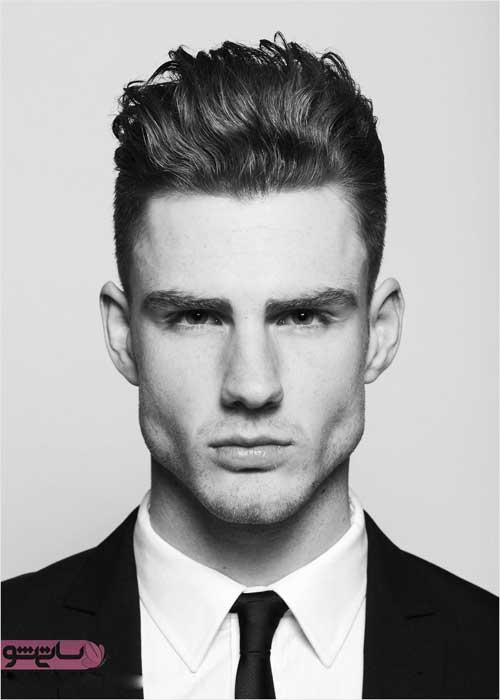 مدل مو تاب خورده مردانه