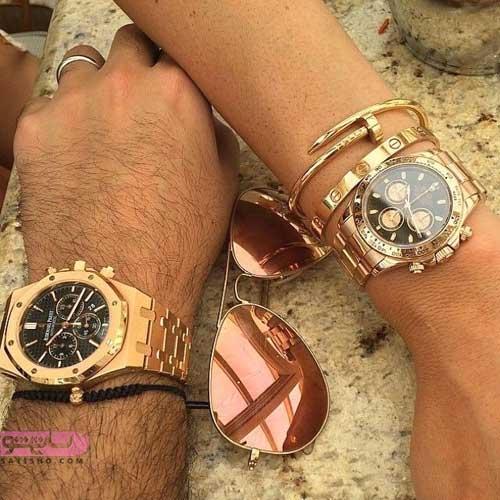 مدل ساعت ست عروس داماد جدید