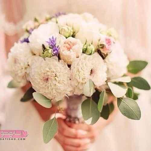 دسته گل عروس 98