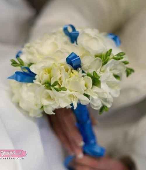 دسته گل عروس مدرن