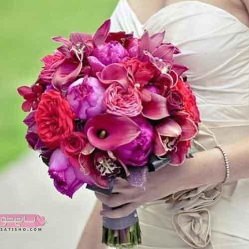 دسته گل عروس امروزی