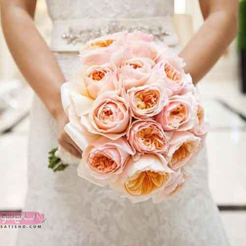دسته گل زیبای عروس