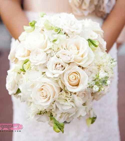 تزیین جالب دسته گل عروس