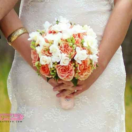 تزیینات دسته گل عروس