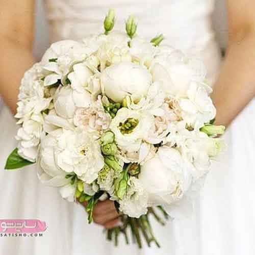 مدل دسته گل عروس مصنوعی