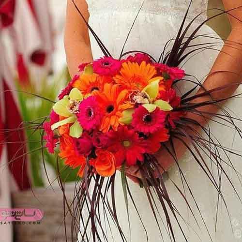 انواع مدل از دسته گل عروس جدید و اروپایی