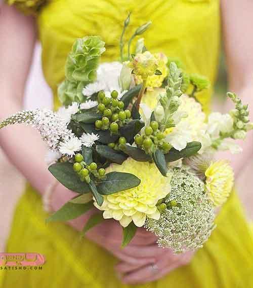 جدیدترین عکس دسته گل عروس اروپایی