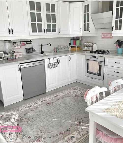 دکوراسیون سفید رنگ منزل به سبک فانتزی