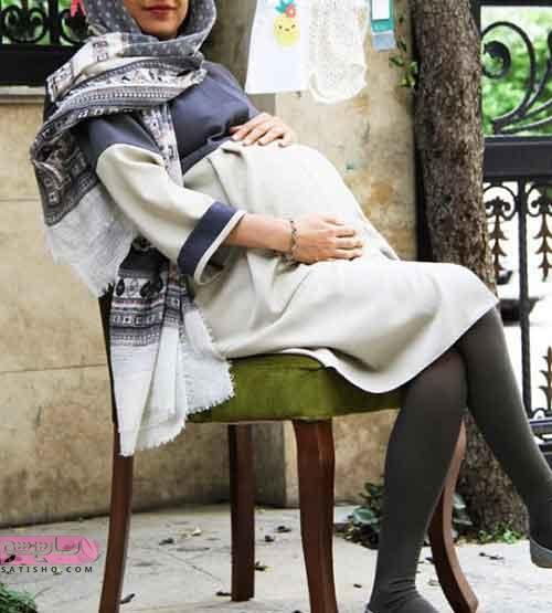 مانتو بارداری مجلسی