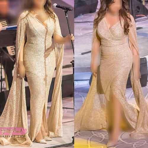 مدل لباس نامزدی آستین بلند