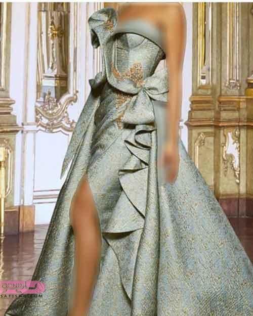 مدل لباس شب نامزدی بلند