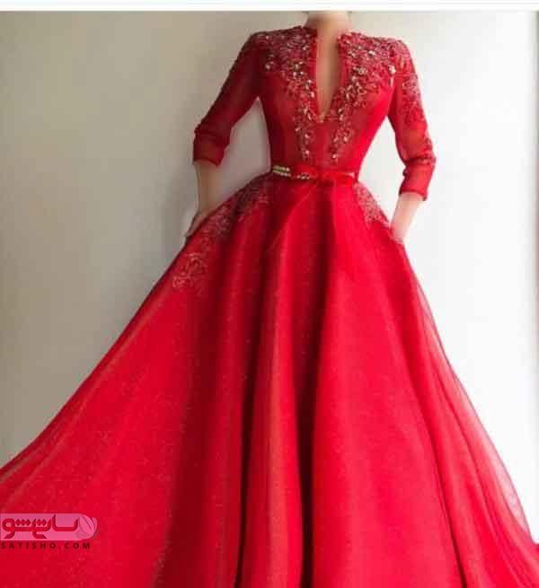 مدل لباس مجلسی بلند برای نامزدی