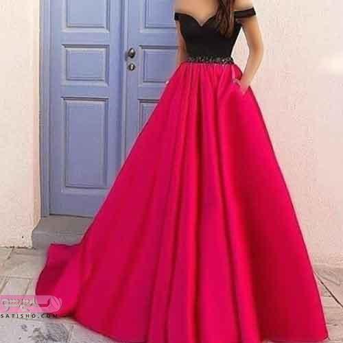 مدل لباس نامزدی برای افراد لاغر