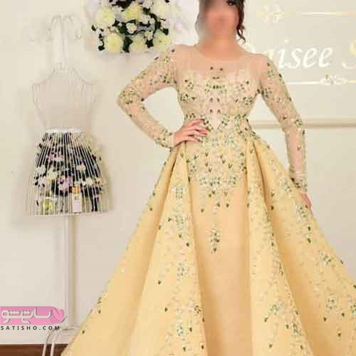 جدیدترین مدل لباس نامزدی 2019 دانتل و حریر