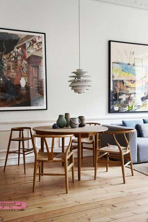 میز ناهارخوری برای خانه های جمع و جور
