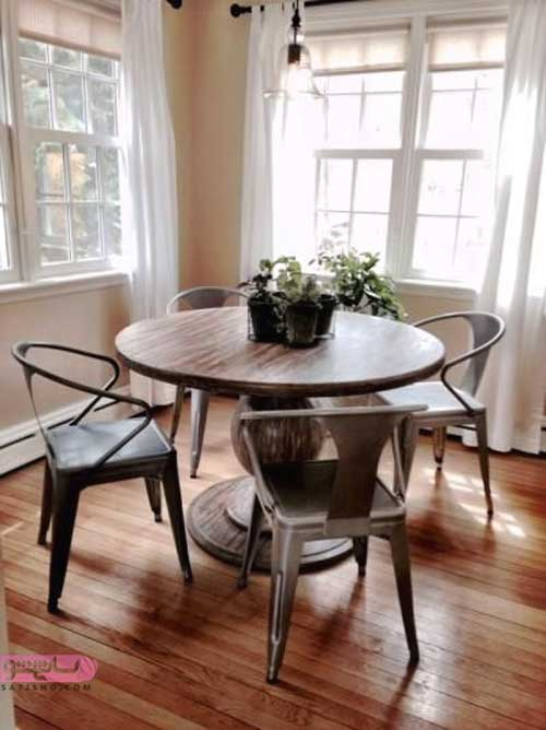 دکوراسیون اتاق و میز غذاخوری