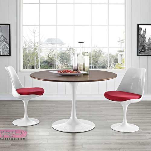 مدل میز غذاخوری بسیار شیک و ساده