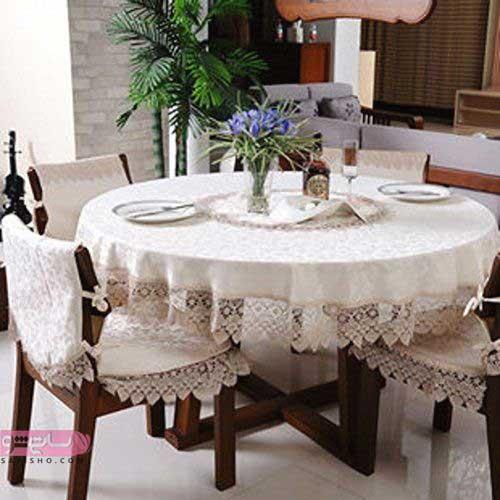مدل میز غذاخوری مدرن و کلاسیک رنگ روشن