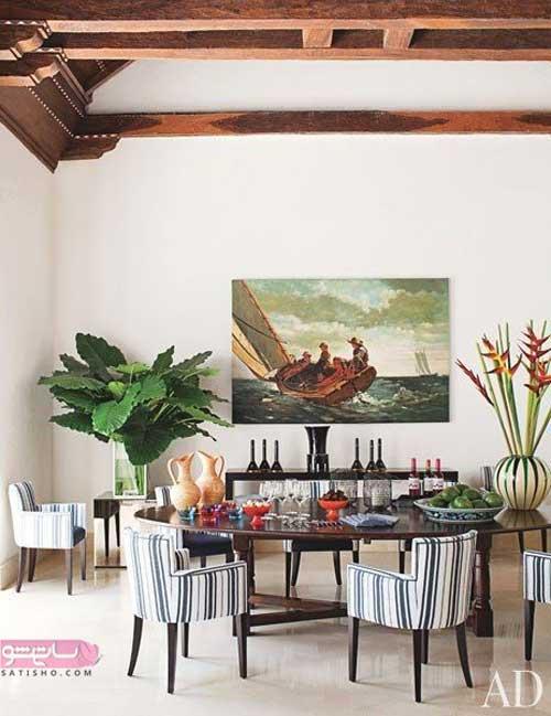مدل میز غذاخوری راحت و زیبا