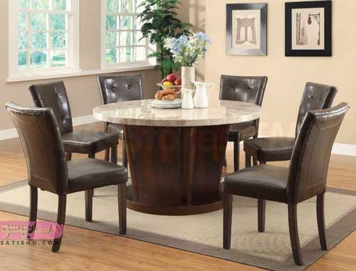 تزیین اتاق و مدل میز غذاخوری