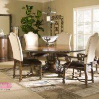 جذاب ترین مدل میز ناهارخوری گرد با طرح های نوین و لاکچری