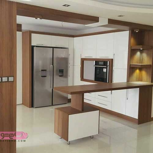 تزیین آشپزخانه با کابینت مدرن ایتالیایی
