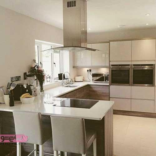 دکوراسیون آشپزخانه با کابینت های جدید