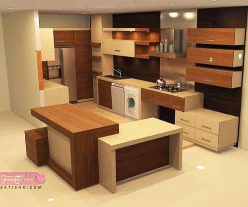 کابینت آشپزخانه قیمت برای آشپزخانه