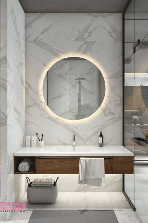 ایده های متنوع برای مدل اینه توالت مناسب هتل