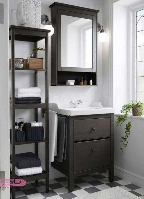 انواع آینه دستشویی جدید و مدرن