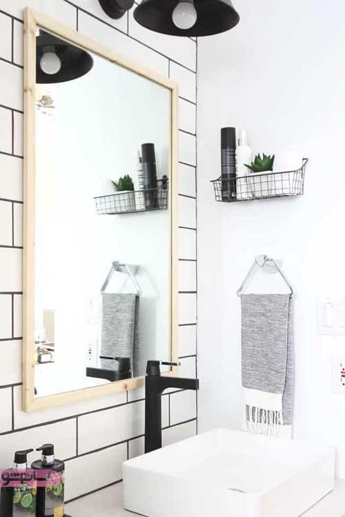 تزئین متفاوت و زیبای دستشوییهای کوچک