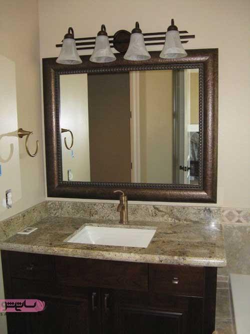 آینه سرویس بهداشتی و حمام